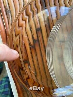 12 Vintage Tiffany & Co Clear Crystal 7 3/4 Salad Bread Plates signed