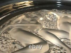 16 Lalique Homage A Rene Three Nudes Nymphs 150th Anniversary Plate 15 Lbs