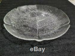 24 Arcoroc Aspen Leaf Vintage Set Dinner Plates, Cups, Saucers, Salad Plates