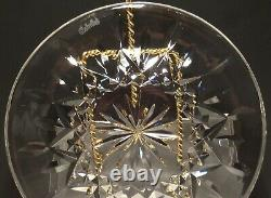 4 Waterford Crystal Lismore 6 Bread & Butter Plates Made In Ireland