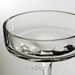 6 inches Clear Glass Plate Candle Holder with Stem H-6 Wholesale Lot of 36pcs