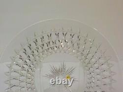 American Brilliant Period HAWKES Cut Glass 7.25 Dessert Plate, c. 1890