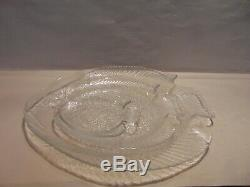 Arcoroc Fish Plates Set 45 Piece Set Made In France