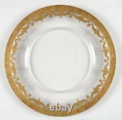 Arte Italica Vetro Gold Service Plate 5611790