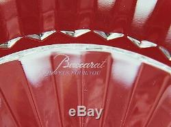 Baccarat Mille Nuits Clear Crystal 10 1/4 Large Plate Brand New Made In France