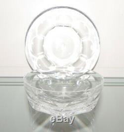 Baccarat (cut) Crystal Bowl & Plate Hardcourt Rare! 26 Sets Aval