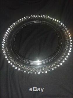 Candlewick Imperial Glass Candle Cake Plate