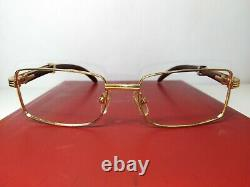 Cartier Sunglasses frame Gold Plated 53 MM Made in France