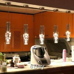 Chandelier Kitchen Island Crystal Lamp Bar Pendant Light Modern LED Ceiling Lamp