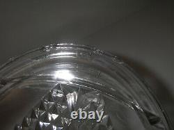 EAPG Adams Glass NO 120 Cake Salver Mold Plate Pedestal Diamond