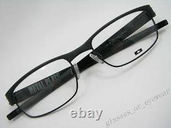 Eyeglass Frames-Oakley METAL PLATE 22-198 Matte Black53mm Titanium Glasses Frame