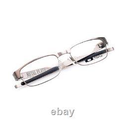 Eyeglass Frames-Oakley METAL PLATE 22-199 Brushed Chrome 53mm Titanium Glasses