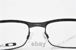 Eyeglass Frames-Oakley METAL PLATE OX5038-0555 Matte Black 55mm Titanium Glasses
