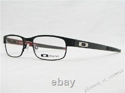 Eyeglass Frames-Oakley carbon plate OX5079-0153 Matte Black53mm Titanium Glasses