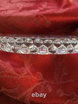 FLAWLESS Exquisite BACCARAT France Art Crystal GOUTTES Bottle COASTER DISH PLATE