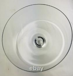 Heavy Clear Glass Cake Plate Dome Cover Lid Replacement Dome 10-Vintage