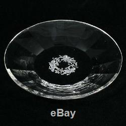 Heinrich Hoffmann Cherub Glass Plate Intaglio Cut Crystal 1933 Czech Glass 2