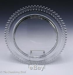 Imperial Candlewick Birthday Cake Plate Stunning Piece 72 Candle Holes 400/160
