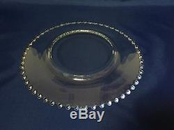 Imperial Glass CANDLEWICK Dinner Plate Set of 4 (Lot A)
