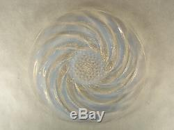 JH1409 Rare Original Rene Lalique Poissons (Fish) Plate C 1921