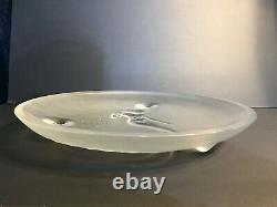 Lalique Clear Mermaid Plate