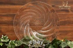Lalique Crystal Vintage R 1931 Poissons Shallow Bowl Plate