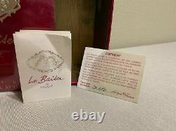 Lalique Le Baiser Ltd. Ed. Perfume Bottle # D 472 Gold Plated
