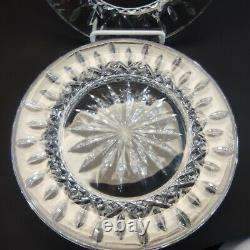 Lot Of 4 Waterford Crystal 1998- Lismore 8 Plate, Artist Signed Jim O'Leary