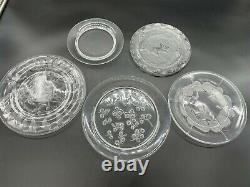 Lot of 5 Lalique Plates