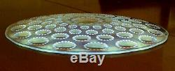Lovely Rene Lalique Asters Plate 27.6cm c1935 fabulous condition