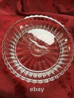 MIB FLAWLESS Exquisite BACCARAT Crystal MILLE NUITS Bottle COASTER DISH PLATE