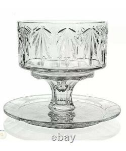 Marquis Waterford Crystal Casey 4 in 1 Convertible Cake Stand, Dome, & Plate Set