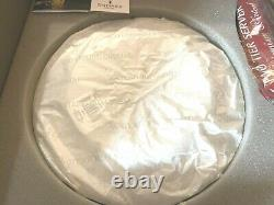 NEW Waterford Crystal LISMORE 2-Tier SERVER Platter CAKE TRAY RARE NEW IN BOX