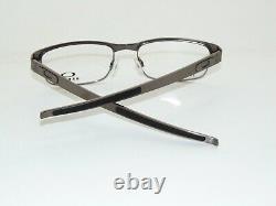 OAKLEY METAL PLATE 22-199 Brushed Chrome Titanium 53mm Rx NIB Eyeglasses