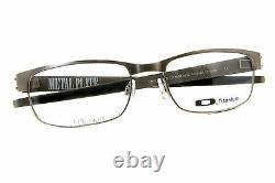 Oakley METAL PLATE OX5038-0655 Brushed Chrome Titanium 55/18/140 Eyeglasses New