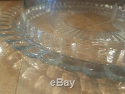 PRINCESS HOUSE Hostess Crystal Heritage Cake Plate + Dome Lid #77 FREE FREIGHT