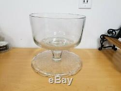 Princess House Punch Bowl Cake Plate Fantasia -New without box Ships Same Day
