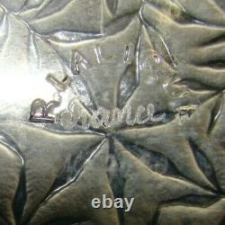 R. Lalique Vases Pattern #3020 Plate