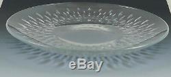 RARE Vintage Baccarat Paris Cut Crystal Salad Plate 7.5 10 Available Dish