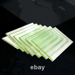 Radiation Safety X Ray Protection Lead Glass Sheet Plate Thick 12-20mm LOT