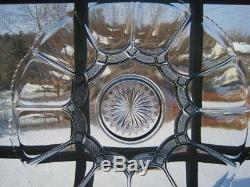 Rare Us Glassgalloway Clear Punch Bowl Underplatelg Torte Plateeuc