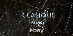 Rene Lalique 1931 Largest Ormeaux Plate (14), With A Green Patina. Good Cond