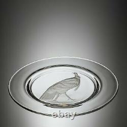 STEUBEN, Audubon 10 dinner plate 1940's Turkey