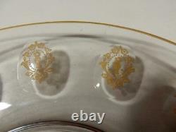Set of 8 Antique Elegant Tiffin Franciscan Palais Versailles Luncheon Plates 8