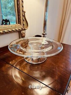 Simon Pearce Signed Hartland Serving Plate ideal for Cakes, Cheese or Fruit