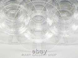 Steuben Crystal Art Glass 9 RIMMED SOUP PLATES BOWLS Set of 12 Rare