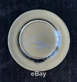 Steuben Crystal Star Zodiac Plate Pisces designed by Don Wier