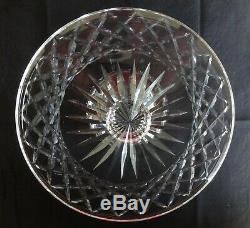 VINTAGE Waterford Crystal ALANA (1952-) Pedestal Cake Plate / Stand 10