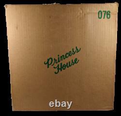Vintage Princess House 2 Piece Heritage Pedestal Domed Cake Plate #076
