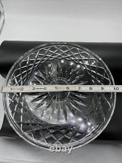 Vintage WATERFORD Crystal Comeragh (Cut) Alana Cake Plate Footed Pedestal 10